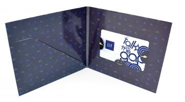 Упаковка для подарочного сертификата (карта + брошюра)
