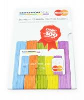 Упаковка для пластиковой карты и двух буклетов + слипкейс