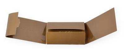 Самосборная упаковка для пластиковой карты и буклета