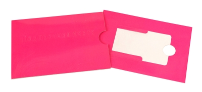 Упаковка-конверт для пластиковой карты