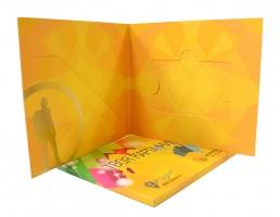 Кардпак, кард-пак для пластиковой карты и буклета