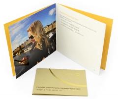 VIP упаковка для 2х банковских карт и брошюры