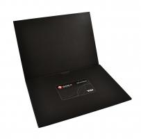 Упаковка с ложементом для пластиковой карты