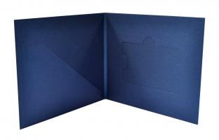 Картонная упаковка на заказ, кардпак для пластиковой карты и буклета