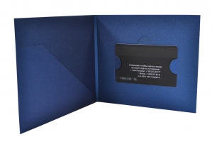 Дизайнерская упаковка пластиковых карт
