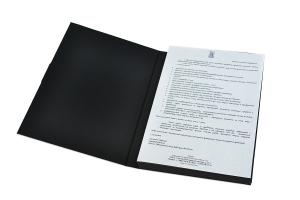 Индивидуальная упаковка-книжка для пластиковой карты