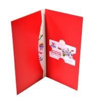 Упаковка для пластиковой карты и евролифлета