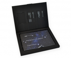 Эксклюзивная упаковка для 3х пластиковых карт и буклета