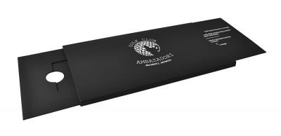 Эксклюзивная упаковка-слайдер для подарочной карты гольф-клуба